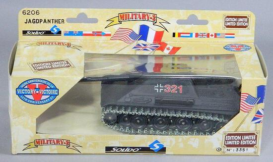 Limited Edition Solido Die Cast Tank: Victory JagDPanther