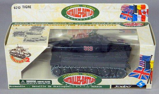 Solido Die-Cast Tank: Batailles-Battles Tigre