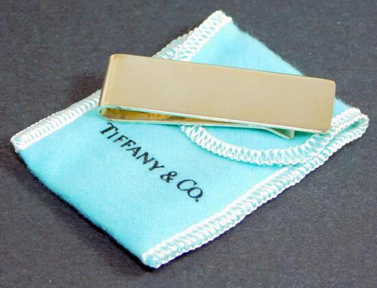 Tiffany & Co. 925 Money Clip with Box and Pouch