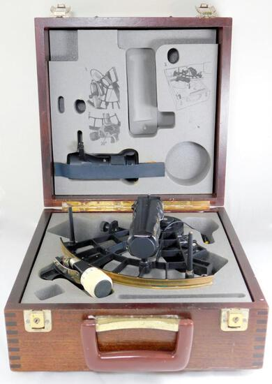 Weems and Plath Micrometer Drum Sextant