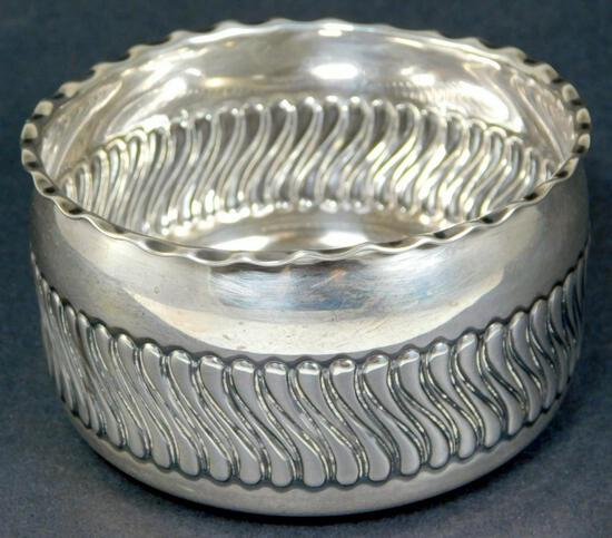 "Antique Gorham Sterling Silver 4"" Bowl, c. 1890"
