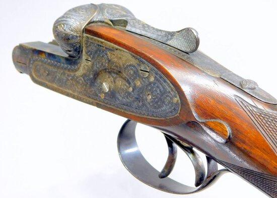 GUNS - POWDER & SHOT FLASKS/HORNS - AMMO - SWORDS
