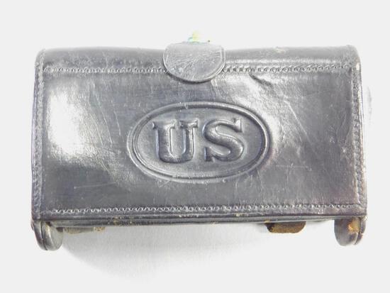 Spanish-American War Leather Cartridge Box