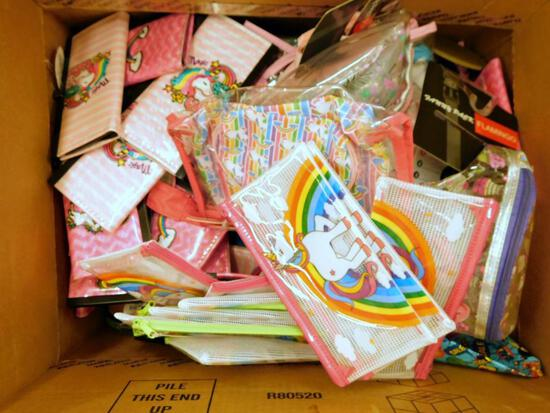 Big Box of Unicorn and Rainbow Pocketbooks