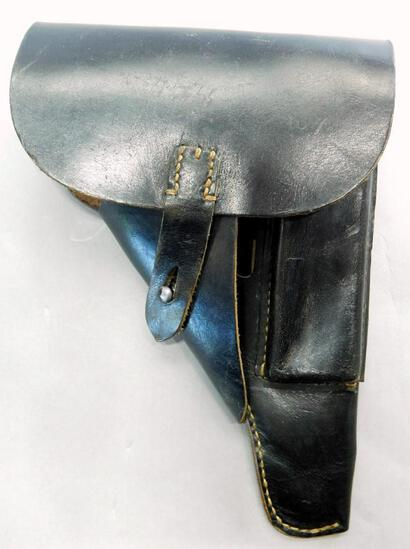 German WWII Mauser P-38 Leather Pistol Holster