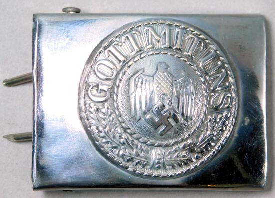 WWII Army Enlisted Mans Parade Belt Buckle