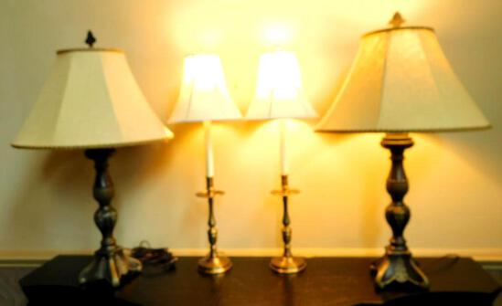 2 Pairs of Lamps