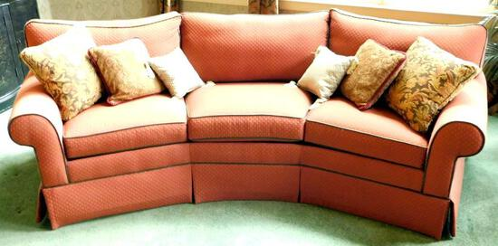 Ethan Allen Conversation Couch