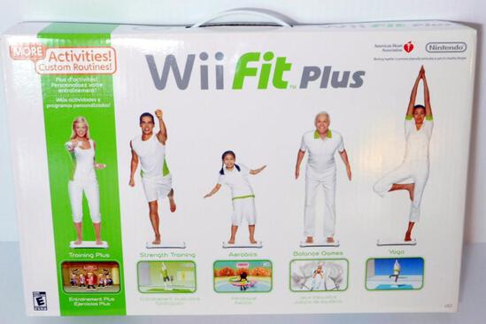 Wii Fit Plus, Unopened