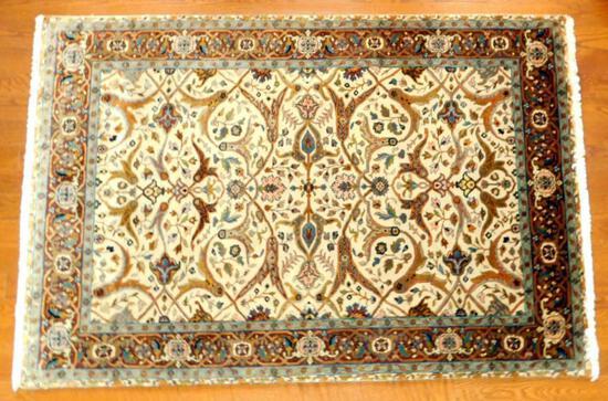 Ethan Allen Wool Isfahan Rug