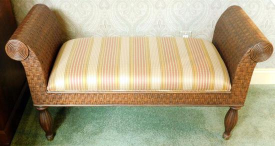 Ethan Allen Upholstered Bench