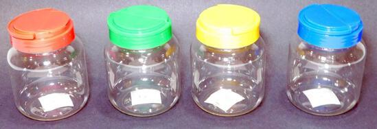 Decorative Lidded Jars, 50 Units