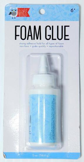 Foam Glue Bottles, 134 Units