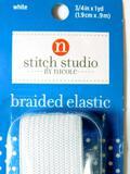 Stitch Studio 3/4-inch Braided Elastic, 50 Units
