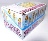 Packages of 24 Party Candles, 12 Units