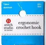 Stitch Studio Ergonomic Crochet Hooks, 50 Units