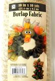 Burlap Fabric Rolls, 13 Units