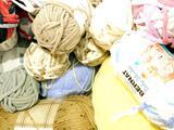 Stitch Studio and Bernat Assorted Yarn, Dozens of Units