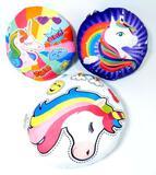 Colorful Unicorn Pillows, 18 Units