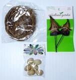 Decorative Nature and Bird Nest Pieces, Tub Full