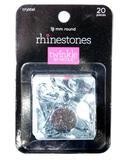 Crystal Clear 18mm Rhinestones 20-packs, 100+ Units