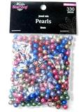 Packets of Jewel Mix Loose Pearl Beads, Tub Full
