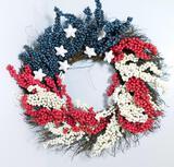 Patriotic Wreaths, 10 Units