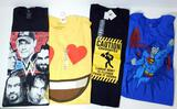New Adult WWE, Superman and Assorted Licensed T-Shirts, 47 Units
