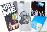 Adult Assorted Licensed T-Shirts, 59 Units