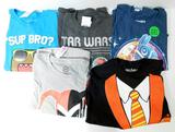 Adult Assorted Licensed T-Shirts, 55 Units