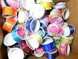 Dozens of Spools of Colored Ribbon, Full Box