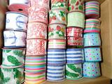 Wired Wide Decorative Ribbon, 75 Units