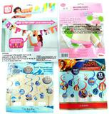 Birthday Invitations and Party Decorative Pieces, Nearly Full Box