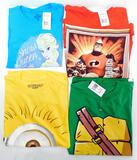 Assorted Kids' Licensed T-Shirts, 88 Units