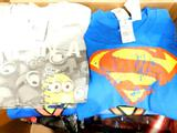 Assorted Licensed Kids' T-Shirts, 77 Units