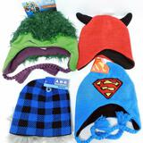 Licensed Kids Assorted Knit Hats, 31 Units
