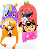 Licensed Kids' Assorted Knit Hats, 50 Units