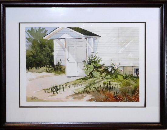Pennsylvania Artist John James Watercolor