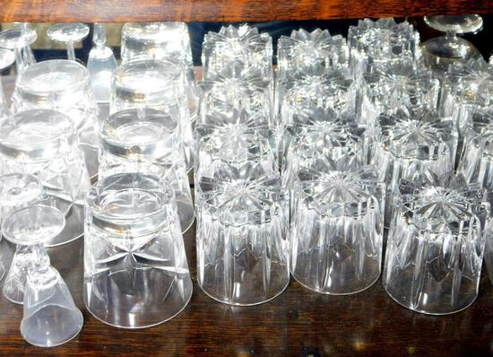 Assorted Barware and Glassware
