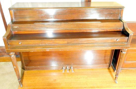 Hardman, Peck & Co. Harrington New York Upright Piano