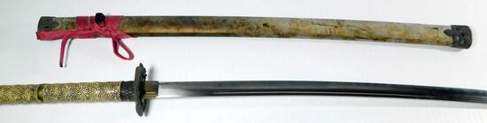 King Cobra Head Samurai Sword with Saya Sheath