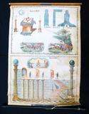 Masonic Degree The Master's Carpet Prayer Corn Wine & Oil, John Sherer