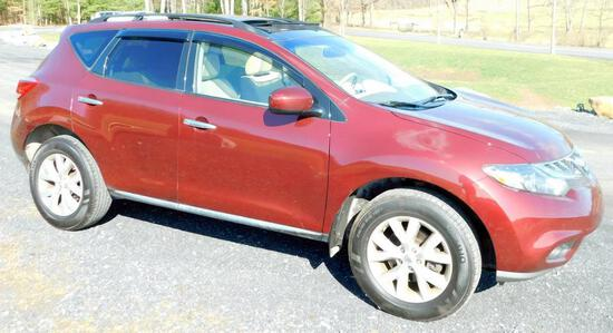 2012 Nissan Murano SL AWD - Only 44,361 Miles