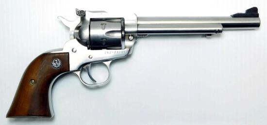 Ruger New Model Single-Six .22LR / .22WMR Revolver, Stainless