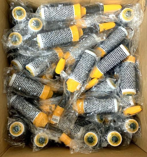 GK Global Keratin Tools, Round Brushes, 66 Units