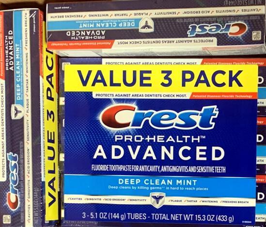Crest Pro-Health Advanced Toothpaste, 201 Tubes