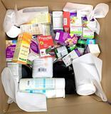 Assorted CVS/pharmacy OTC and HBA Shelf Stock, 88 Units