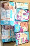 Assorted Diapers, Honest Co. size 1 and Pampers Cruisers size 3, 23 Units