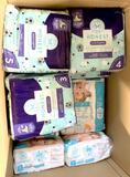 Honest Company Diapers sizes 3-5, 19 Units