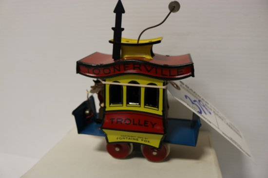 Fountaine Fox Toonerville Trolley w/box - O27